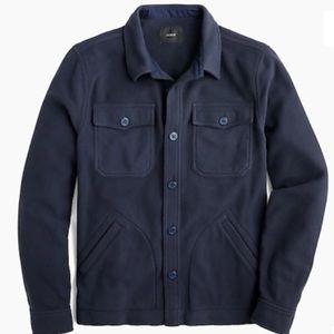 JCrew Men's Polar Fleece Overshirt